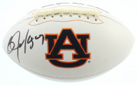 Bo Jackson Signed Auburn Tigers Logo Football (Beckett COA) at PristineAuction.com