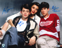 "Matthew Broderick, Mia Sara & Alan Ruck Signed ""Ferris Bueller's Day Off"" 11x14 Photo (Beckett LOA) at PristineAuction.com"
