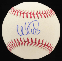 Willson Eduardo Contreras Signed OML Baseball (JSA COA) at PristineAuction.com