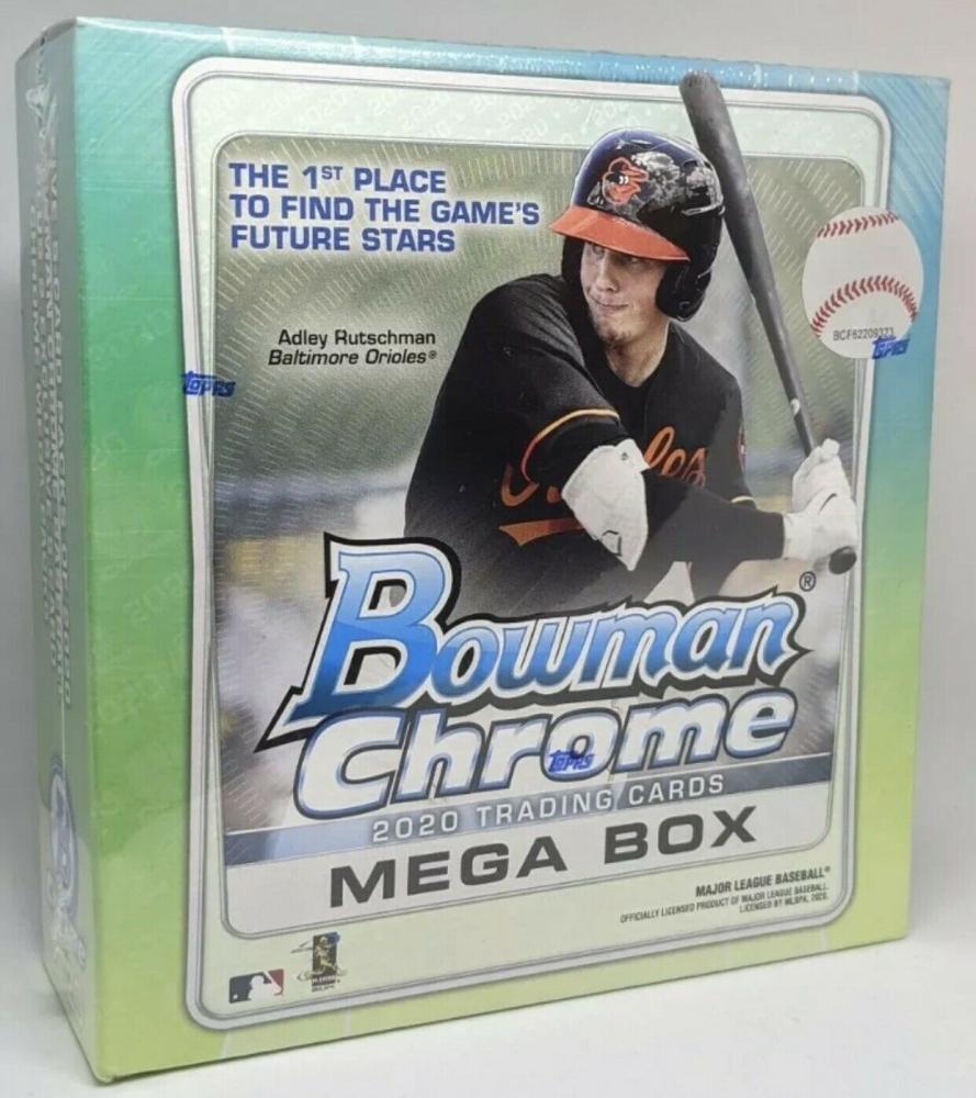 2020 Bowman Chrome Baseball Mega Box with (35) Cards at PristineAuction.com
