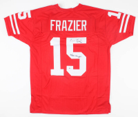 """Tommie Frazier Signed Jersey Inscribed """"94/95 Champs"""" (Beckett COA) at PristineAuction.com"""
