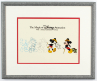"""Mickey Mouse"" 13.5x16.5 Custom Framed Animation Serigraph Display at PristineAuction.com"