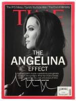 "Angelina Jolie Signed 2013 ""Time"" Magazine (JSA COA) at PristineAuction.com"
