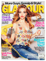 "Amanda Seyfried Signed 2012 ""Glamour"" Magazine (JSA COA) at PristineAuction.com"