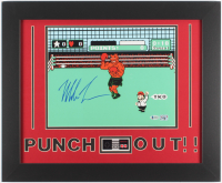 "Mike Tyson Signed ""Punch-Out!!"" 19.5x23.5 Custom Framed Photo Display (Beckett COA & Fiterman Sports Hologram) at PristineAuction.com"