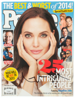 "Angelina Jolie Signed 2014 ""People"" Magazine (JSA COA) at PristineAuction.com"