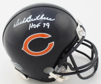 "Dick Butkus Signed Bears Mini Helmet Inscribed ""HOF 79"" (JSA COA) at PristineAuction.com"