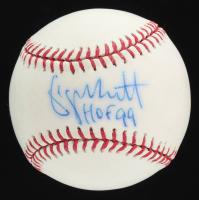 """George Brett Signed OML Baseball Inscribed """"HOF 99"""" (Beckett COA) at PristineAuction.com"""