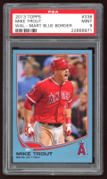Mike Trout 2013 Topps Wal-Mart Blue Border #338 (PSA 9) at PristineAuction.com