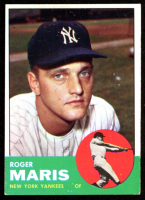 Roger Maris 1963 Topps #120 at PristineAuction.com