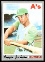 Reggie Jackson 1970 Topps #140 at PristineAuction.com