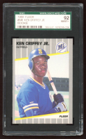 Ken Griffey Jr. 1989 Fleer #548 RC (SGC 8.5) at PristineAuction.com