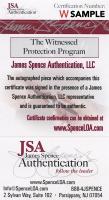 Lamar Jackson Signed 35x43 Custom Framed Jersey (JSA COA) at PristineAuction.com