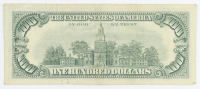 1966 $100 One-Hundred Dollar Red Seal U.S. Legal Tender Note at PristineAuction.com