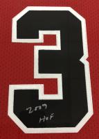"Michael Jordan Signed Bulls 37.5""x 45"" Custom Framed Mitchell & Ness Jersey Display Inscribed ""2009 HOF"" (UDA COA) at PristineAuction.com"