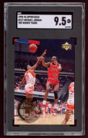Michael Jordan 1995-96 Upper Deck The Rookie Years #137 (SGC 9.5) at PristineAuction.com