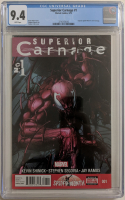 "2013 ""Superior Carnage"" Issue #1 Marvel Comic Book (CGC 9.4) at PristineAuction.com"