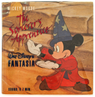 "Vintage Walt Disney's Fantasia ""Mickey Mouse: The Sorcerer's Apprentice"" 8mm Film Reel with Original Box at PristineAuction.com"