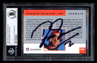 Boomer Esiason Signed 1991 Pro Line Portraits #250 (BGS Encapsulated) at PristineAuction.com