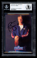 Phil Simms Signed 1991 Pro Line Portraits #227 (BGS Encapsulated) at PristineAuction.com