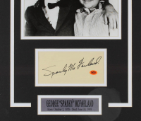 "George ""Spanky"" McFarland Signed ""Our Gang"" 17x22 Custom Framed Cut Display (CAS COA) at PristineAuction.com"