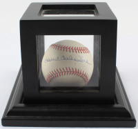 "Edward Charles ""Whitey"" Ford Signed OAL Baseball with High Quality Display Case (JSA COA) at PristineAuction.com"