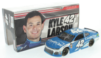 Kyle Larson Signed LE #42 Credit One Bank 2018 Camaro ZL1 1:24 Scale Die Cast Car (JSA COA) at PristineAuction.com