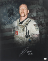 """Robert O'Neill Signed 16x20 Photo Inscribed """"Never Quit!"""" (JSA COA) at PristineAuction.com"""