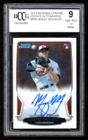 Manny Machado 2013 Bowman Chrome Rookie Autographs #MM (BCCG 9) at PristineAuction.com