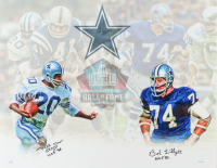 "Mel Renfro & Bob Lilly Signed Cowboys 16x20 Photo Inscribed ""HOF 96"" & ""HOF '80"" (JSA COA) at PristineAuction.com"