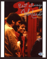 "John Landis Signed ""Michael Jackson's Thriller"" 8x10 Photo Inscribed ""Best Always"" Beckett COA) at PristineAuction.com"