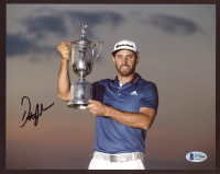 Dustin Johnson Signed 8x10 Photo (Beckett COA) at PristineAuction.com