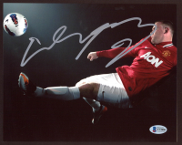 Wayne Rooney Signed Manchester United 8x10 Photo (Beckett COA) at PristineAuction.com