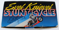 "Evel Knievel Signed ""Evel Knievel: Stunt Cycle"" Action Figurine (Beckett COA) at PristineAuction.com"