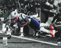 Sony Michel Signed 16x20 Photo (Beckett COA) at PristineAuction.com