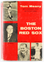 """Tom Meany Signed 1956 First Edition """"The Boston Red Sox"""" Hard Cover Book Inscribed """"All The Best To You In Your Blessed Profession"""" (JSA COA) at PristineAuction.com"""