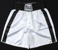 Buster Douglas Signed Boxing Trunks (Schwartz COA) at PristineAuction.com