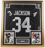 Bo Jackson Signed 33x37 Custom Framed Jersey (Beckett COA) at PristineAuction.com