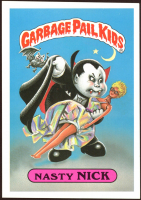 1986 Garbage Pail Kids Giant Series One #1 Nasty Nick at PristineAuction.com