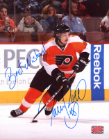 """Daniel Briere Signed Flyers 8x10 Photo Inscribed """"Best Wishes!"""" (YSMS COA) at PristineAuction.com"""