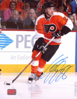 Claude Giroux Signed Flyers 8x10 Photo (YSMS COA) at PristineAuction.com