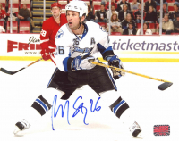 Martin St. Louis Signed Lightning 8x10 Photo (YSMS COA) at PristineAuction.com
