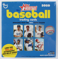 2020 Topps Heritage Baseball Mega Box of (15) Packs at PristineAuction.com