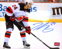 Ty Smith Signed Devils 8x10 Photo (YSMS COA) at PristineAuction.com