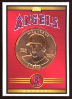 Mike Trout 2019 Baseball Treasure MLB Coins #NNO at PristineAuction.com
