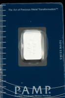 Certified PAMP Rose .999 Fine Silver 5 Gram Bar at PristineAuction.com