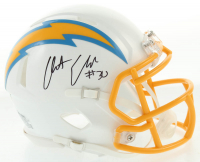Austin Ekeler Signed Chargers Speed Mini-Helmet (Beckett COA) at PristineAuction.com