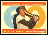 Willie Mays 1960 Topps #564 AS at PristineAuction.com