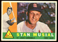 Stan Musial 1960 Topps #250 at PristineAuction.com