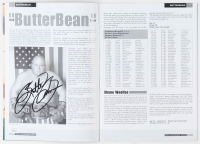 "Eric ""Butterbean"" Esch Signed 2001 WBF Super-Heavyweight Souvenir Program (JSA COA) at PristineAuction.com"